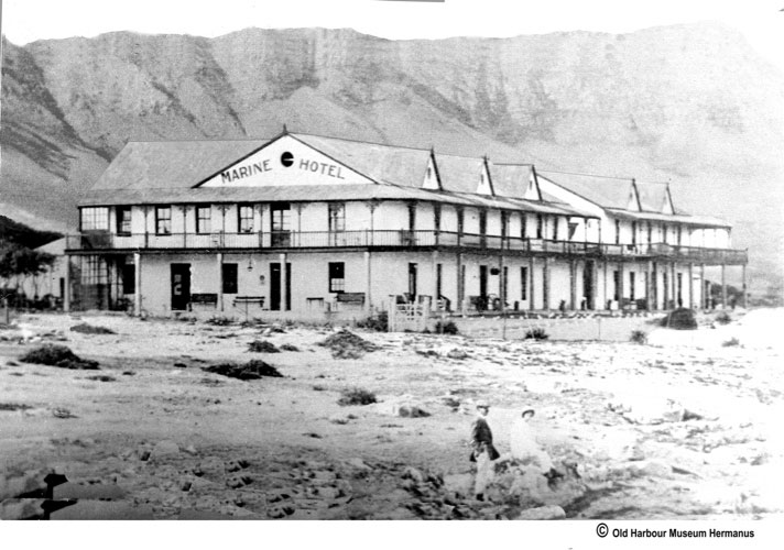 The Marine hotel was established in 1902